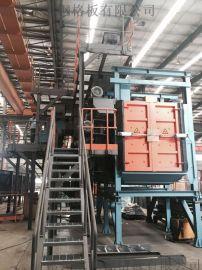 抛丸机械设备平台钢格板
