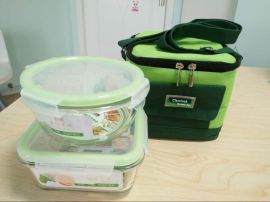 耐热玻璃保鲜盒 真空保鲜碗 微波保鲜盒