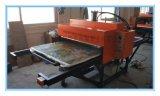 东莞80*100CM压烫画机 半自动油压服装T恤压烫印花机液压双工位压烫机