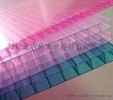 14mm 聚碳酸酯PC四层阳光板 中空板 遮阳板