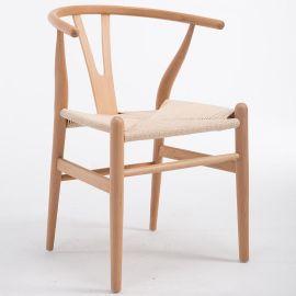 北歐實木Y椅 白蠟木水曲柳櫸木均 可來圖定制
