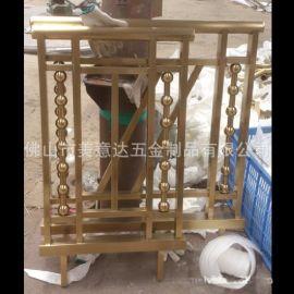 **不锈钢护栏 不锈钢楼梯扶手 装饰柱厂家定做