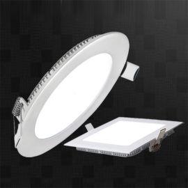 9W原单外贸明装面板灯套件底发光平板灯明装面板灯led面板灯15w