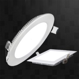 9W原單外貿明裝面板燈套件底發光平板燈明裝面板燈led面板燈15w