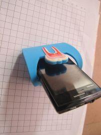 微量射出手机座,橡胶手机固定座,pvc软胶手机座