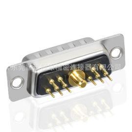 D-SUB同轴射频,同轴直插板,信号连接器