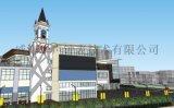 供应高档小区风景钟-小区景观钟表-户外景观大钟生产