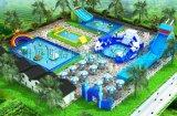 室外大型可移动的支架游泳池厂家直销真的超级好玩