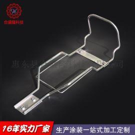 定制 铁线工艺加工 铁线折弯制品  金属不锈钢置物架 出口品质
