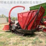 大型履带式秸秆粉碎青储机黄储机牧草收获机
