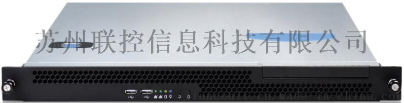 順牛1U機架式工控機RMC-110採用1037U雙核處理器低功耗支持6個串口