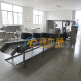 DR6标准化鸡米花加工设备 自动鸡米花裹粉油炸线