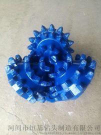 恒基专业生产SKW111非密封钢齿三牙轮钻头