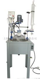 双层玻璃反应釜密封严谨高硼硅玻璃反应釜
