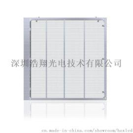 浩翔P10.4超通透侧发光品牌橱窗LED透明屏