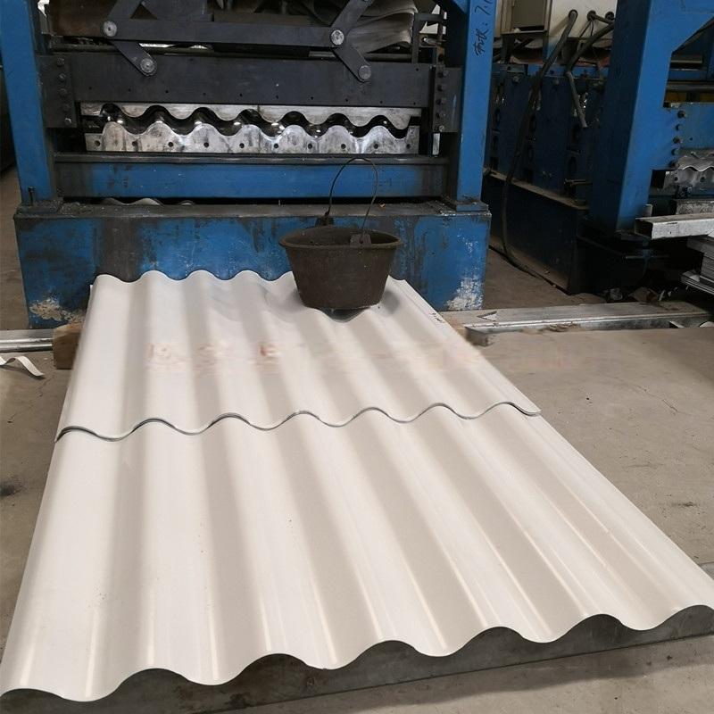 圆拱形波纹板 圆弧形波浪板 铝镁锰波纹墙板