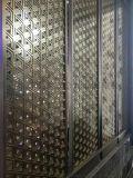星級酒店定製鋁板雙面雕刻隔斷 歐式銅浮雕屏風花格