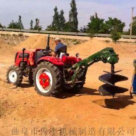 东莞新型地钻挖坑机大马力植树机大卖