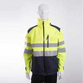防電孤服 阻燃防靜電夾克 防水防靜電工作夾克 防酸鹼防噴濺夾克