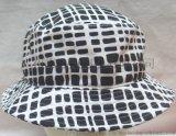 全棉全件印花女士邊帽