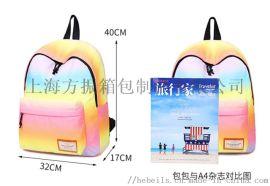 上海箱包定制双肩休闲男女背包 旅行包 学生书包