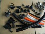 雙層剖開式波紋管接頭  開口尼龍軟管接頭廠家直銷