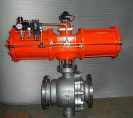 Q647F/Q647H-16P气动固定式球阀
