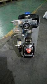 工恒D671F、D671X气动对夹式软密封蝶阀