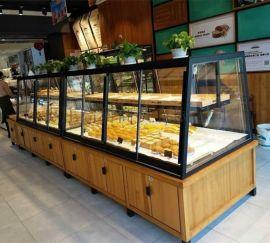 面包中岛展示柜-面包展示柜--宏发展柜