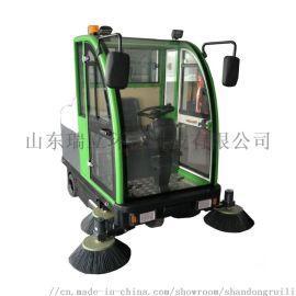 驾驶式电动 物业保洁公司 全封闭式座驾清洁车