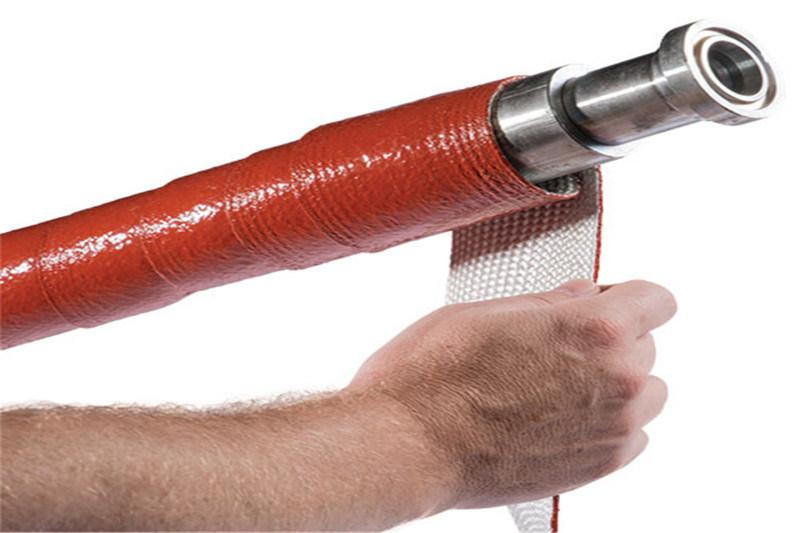 大量供应缠绕式高温套管 绝缘套管 防火套管 隔热套管
