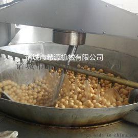 供应燃气式豆泡油炸锅 搅拌式自动除渣油炸锅