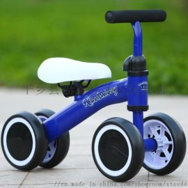 廠家直銷四輪平衡車碳鋼車架滑行車1-3歲學步車