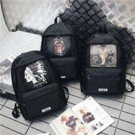定制休闲背包双肩包电脑包可定制logo上海方振