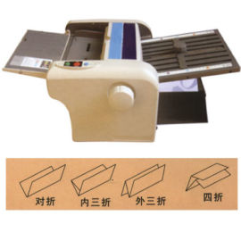 佛山印刷品折叠机/说明书台式折纸机**