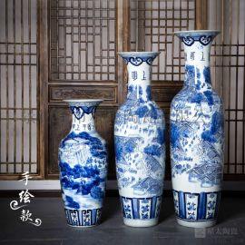 陶瓷大花瓶 落地陶瓷大花瓶定制