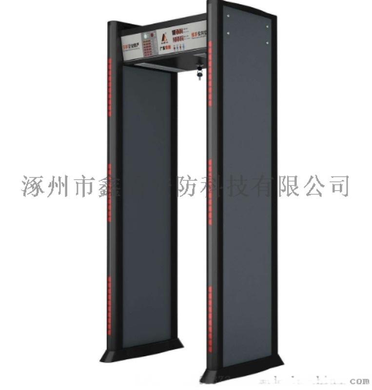 室外防水安检门 6分区带灯柱安检门XD-AJM4价格