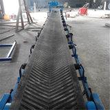 移动式挡边散料装卸车用8米长圆管皮带输送机Lj8