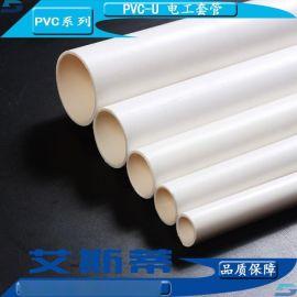山东东营建筑楼房用PVC阻燃线管、电工套管材管件