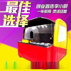 小吃车厂家销售电动三轮小吃车可做早餐车