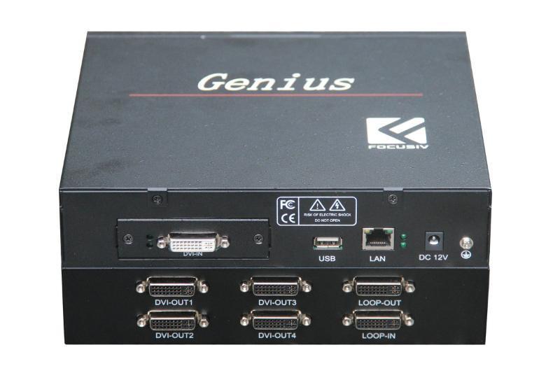 富视威lcd异形拼接器Genius系列lcd液晶拼接屏专用设备