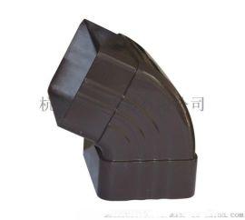 彩铝成品檐槽 成品金属彩铝天沟落水系统