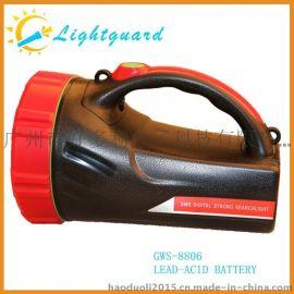 LED 强光防水可充电多功能探照灯
