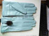 女式羊皮手套真皮保暖时尚