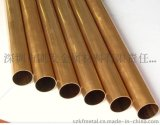 现货供应H65铜管 耐腐蚀易切削铜合金 镀金铜管