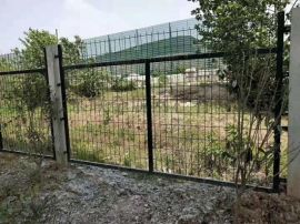 厂家直销高铁防护栅栏   高铁两侧框架护栏网