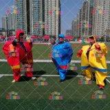 郑州易欣厂家趣味运动会日本相扑服创意道具充气衣服