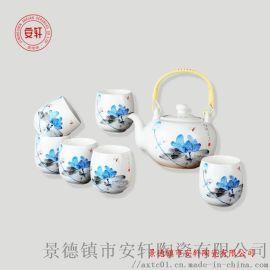 景德镇茶具套装 陶瓷功夫茶具礼品