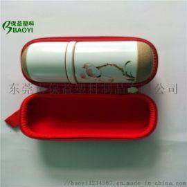 专业定制eva冷热压异型产品包装盒便携式茶具包装盒