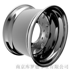万吨级锻造特种车铝合金轮毂1139